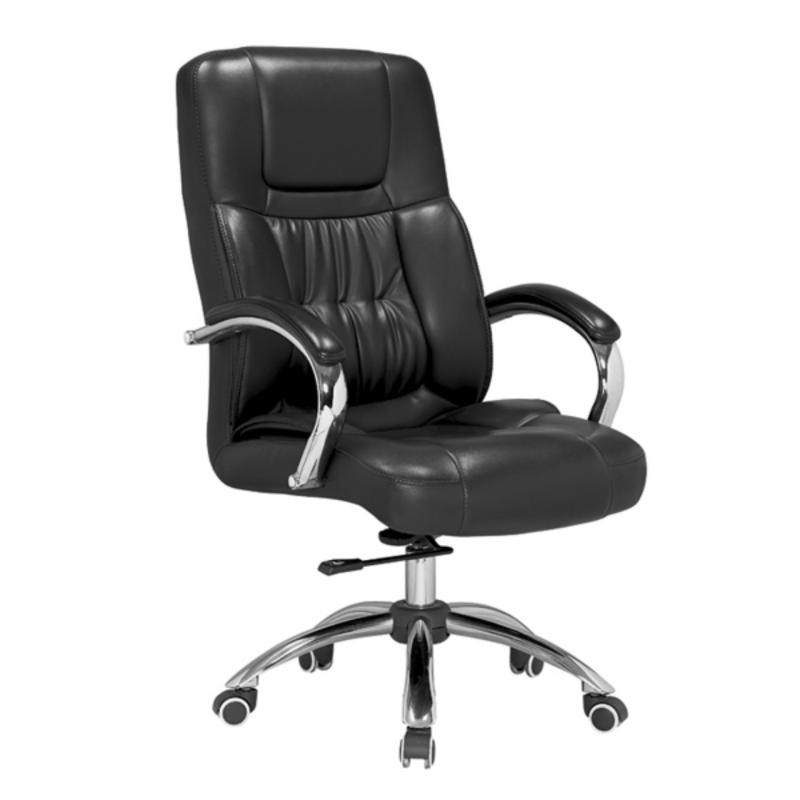 Amber Genuine Leather Chair  Director Chair  High Back Office Chair Singapore