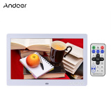 Price Andoer 10 Hd Wide Screen Lcd Digital Photo Picture Frame High Resolution 1024 600 Clock Mp3 Mp4 Video Player With Remote Control Gift Present Export Andoer Online