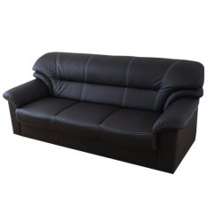 Retail Price Andre Sofa 3P Black Free Delivery