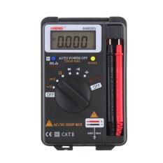 Aneng An8203 Dmm Integrated Handheld Pocket Mini Digital Ac/dc Multimeter - Intl By Crystalawaking
