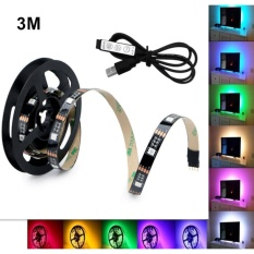 Best Reviews Of Angelila 300Cm Rgb Led Strip Lighting Usb 5V Smd 5050 Strips With Mini Controller Specialty Lighting For Home Decor Intl