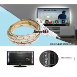 Buy Angelila Smd 3528 Waterproof Led Strip Lighting 5V Usb Cable Flexible Tape Lamp White 2M Specialty Lighting Intl China