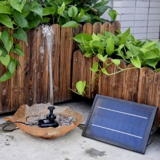 Store Anself 10V 5W Solar Powered Brushless Water Pump Built In Storage Battery Submersible Pump Fountain Garden Pond 200L H Lift 150Cm Intl Oem On Singapore