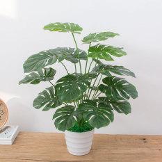Indoor artificial plants bonsai