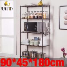 Discounted Anti Rust Heavy Duty Height Adjustable Steel Rack Storage Rack Js 302 Black Color