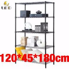 Anti Rust Heavy Duty Height Adjustable Steel Rack Storage Rack Js 305 Black Lowest Price