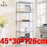 Who Sells Anti Rust Height Adjustable Carbon Steel Rack Storage Rack Js 233 Silver Color Cheap