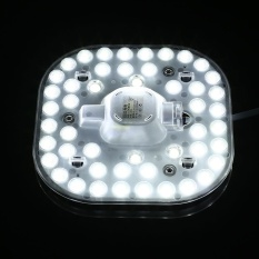 Arctic Land 24W 2835SMD 48LED Square Replace Lens Light Beads Board Panel Light 220V - intl Singapore