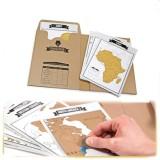 Get Cheap Arctic Land Travelogue Scratch World Map Travel Tips Book Log Notebook Tourist Gift Intl
