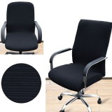 Top Rated Arm Chair Cover Three Sizes Office Computer Chair Cover Side Zipper Design Recouvre Chaise Stretch Rotating Lift Chair Cover Intl