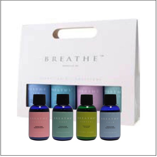 Aromatherapy water-soluble essences - Classic Trial Pack