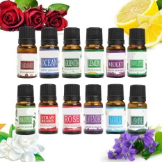 Aromatherapy Essential oil 12pcs A Set for Air Diffuser Aroma Therapy Humidifier - intl