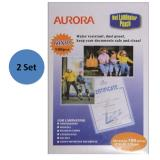 The Cheapest Aurora Laminator Pouch P100A4 2 Set Online