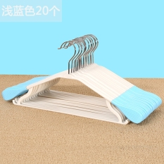 Recent Austrian Cause Home Wholesale Seamless Garment Support 20 Plastic Clothes Rack