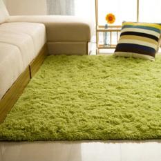 Autoleader Shaggy Anti-skid Carpets Rugs Floor Mat/Cover 80*120cm Grass Green
