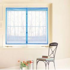 Automatic Closing Magnetic Anti-mosquito Mesh Soft Window Screen 12(W*H) Blue0*150cm - intl