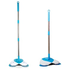 Best Rated Automatic Hand Push Sweeper Magic Spinning Broom Household Cleaning No Electric Intl
