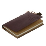 Buy Aw Delicate Cool Classic Vintage Leather Bound Blank Pages Journal Diary Notebook Intl On China