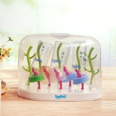 Baby Bottle Drying Rack Multi Function Tree Anti Bacterial Hanging Babies Accessories Drying Tray With Cover Intl Discount Code