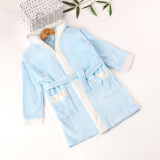 Compare Price Baby Pajamas Children S Bathrobe Hooded Summer Thin Section Baby Infant Nightgown Bamboo Fiber Non Cotton Oem On China