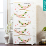 Sale Baby Thick Drawer Style Storage Plastic Lockers Cabinet On China
