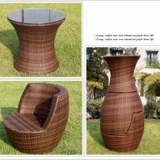 Balcony Coffee Table Set (Vase)