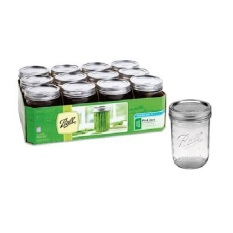 Cheapest Ball Pint 473Ml Wide Mouth Jars Set Of 12