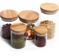 Bamboo Cover Tea Jar Tea Containers On Line