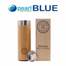 Bamboo Tea Tumbler With Strainer By Leaflife Stainless Steel Double Walled Vacuum Insulated Bpa Free Discount Code