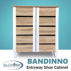 Sale Bandinno Entryway Shoe Storage Cabinet Free Install Delivery Elg Home Online