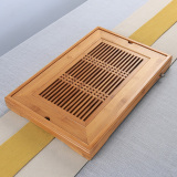 Bao Lin Small Drain Wood Tea Bamboo Tea Tray Cheap