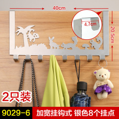 Price Bao Yunegish Punched The Door Back Adhesive Hook Clothes Rack Online China