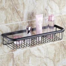 Best Buy Bathroom Accessories All Copper Bathroom Shelves Wall Gold Rose Gold Basket Antique Single Layer Basket 45Cm Black Bronze Intl