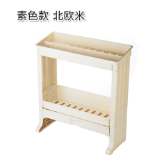 Buy Bathroom Double Layer With Drawer Shelf Cheap On China