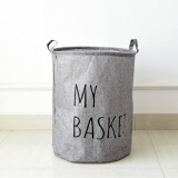 Buy Mimosifolia Bathroom Folding Storage Bins Archival Storage Boxes For Clothes Toy Boxes Or Chests For Boys And Girls Laundry Basket Gray