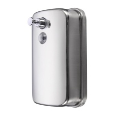 Buy Bathroom Kitchen Stainless Steel Wall Mounted Lotion Pump Soap Shampoo Dispenser 1000Ml Intl Online Singapore