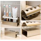 Bathroom Stainless Steel Toothbrush Toothpaste Stand Holder Intl Deal
