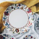 Batik Brown Floral 10 Dinner Plate Best Price
