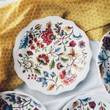 Price Compare Batik Brown Floral 8 Salad Plate
