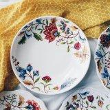Batik Brown Floral 9 Pasta Deep Dish Coupon