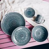 Review Batik Ice Glaze 10 Piece Dinnerware Set Lovera Collections