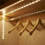 Battery Operated 1M Led Strip Light Wireless Pir Motion Sensor Wardrobe Cabinet Intl Reviews