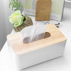 Beau Tissue Box Home Car Container Decoration For Removable Tissue Rectangle Shape - intl