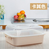 Buy Us Cat Double Layer Plastic Cleaning Wash Dish Basket Cheap China