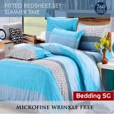 Top Rated Bed Sheet Set Summer Time 4 Sizes Single Supersingle Queen King
