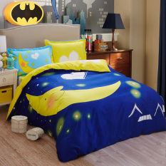 Get Cheap Bedding Set Queen Size 100 Cotton Bright Cartoon Bedding Set Moon Bedclothes Prince Charming Queen New Design The Modern Bed Duvet Cover Sheet Intl