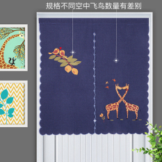 Sale Japanese Style Embroidered Doorway Curtains Oem Cheap