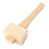 Sale Beech Hardness Carpenter Wood Wooden Mallet Hammer Handle Woodworking S Singapore