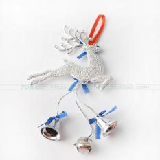 Christmas Deer Bell Pendant New Year Bow Bell Christmas Ornaments Christmas Tree Accessories Showcase Hanging Decoration By Taobao Collection.