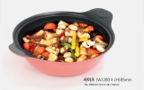 Bellarosa Diamond 5 Layer Coating Stir Frying Wok 28 Cm With Double Grips Bellarosa Cheap On South Korea